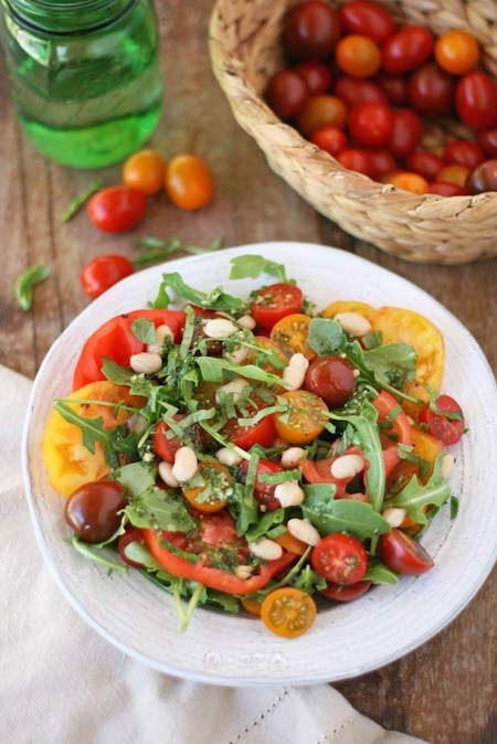Tomato Basil Abundance Salad