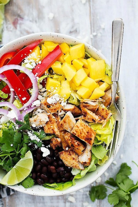 Mango Chipotle Chicken Salad