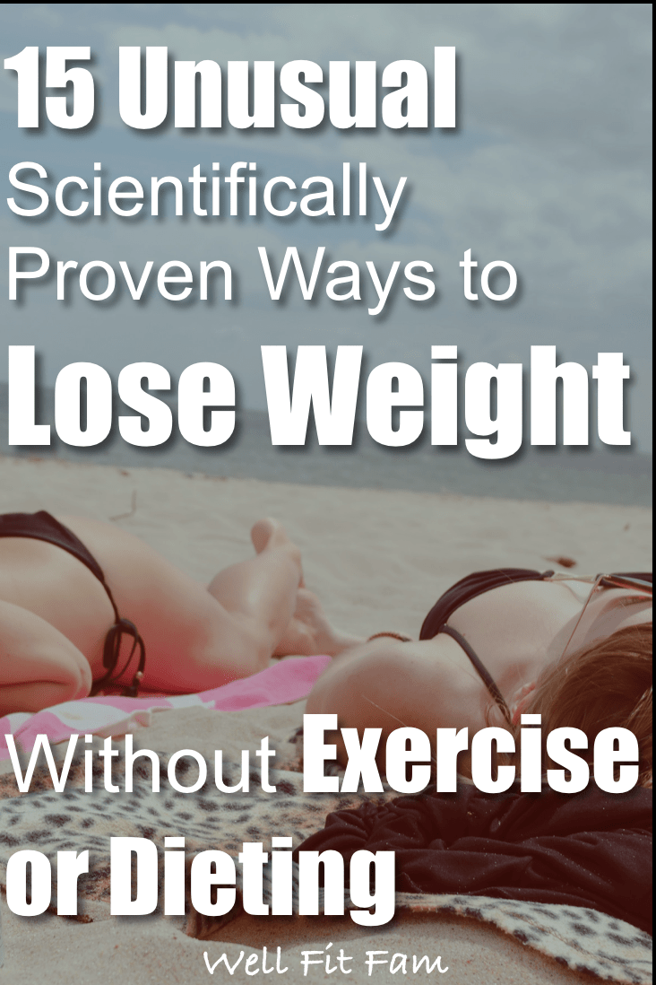 How to Lose Weight Quickly Without Exercise