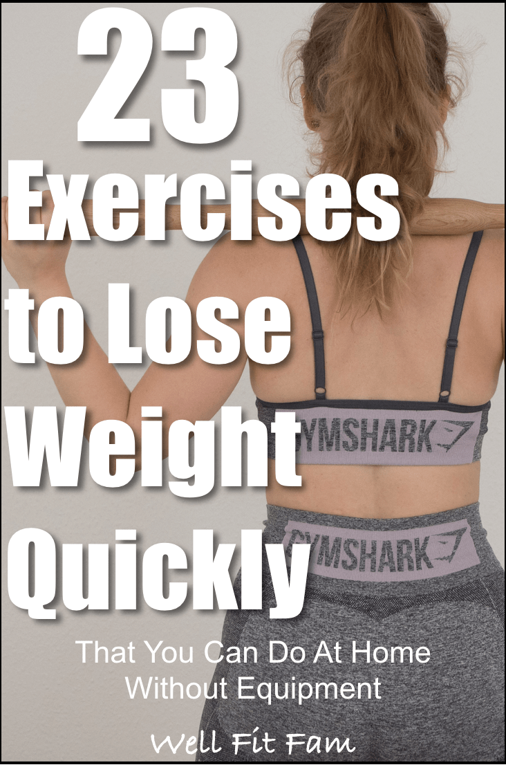 23 Exercises to Lose Weight Quickly