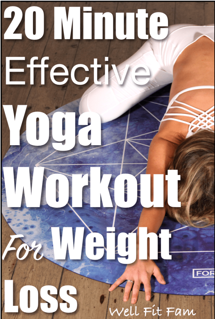 20 Minute Effective Yoga Workout for Weight Loss
