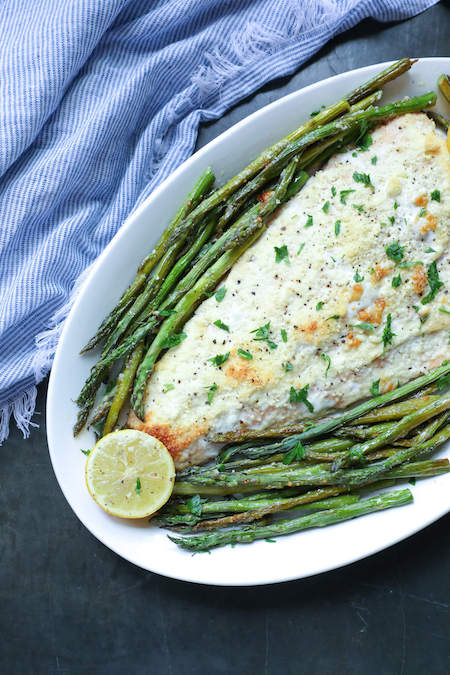 Easy Keto Dinner Recipes To Try Tonight 11 sheet-pan-salmon-asparagus-min