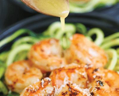 12 Shrimp Zucchini Noodles