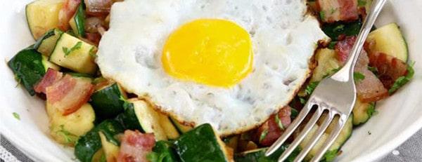 19 Zucchini Breakfast Hash