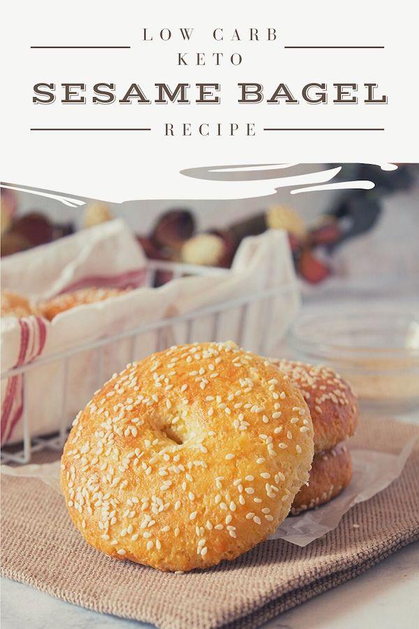 5 Sesame Bagel Easy Keto Breakfast Recipes