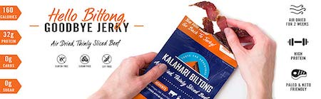 Kalahari Biltong | Air-Dried Thinly Sliced Beef