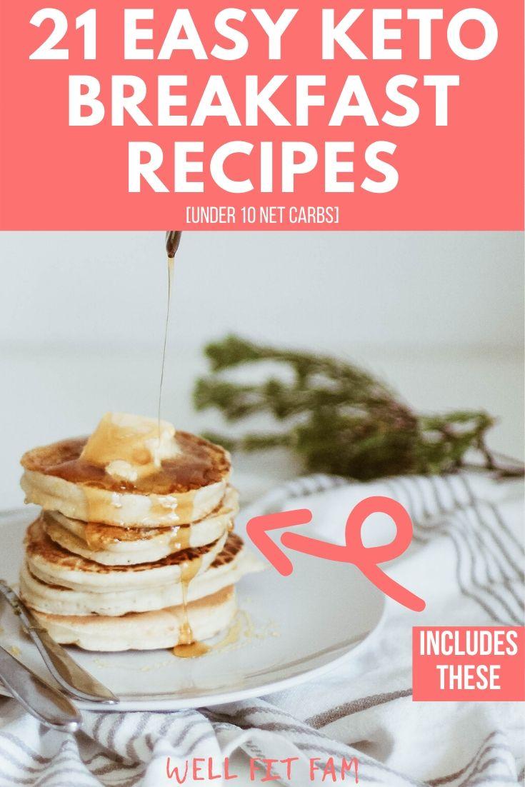 Easy Keto Breakfast Recipes