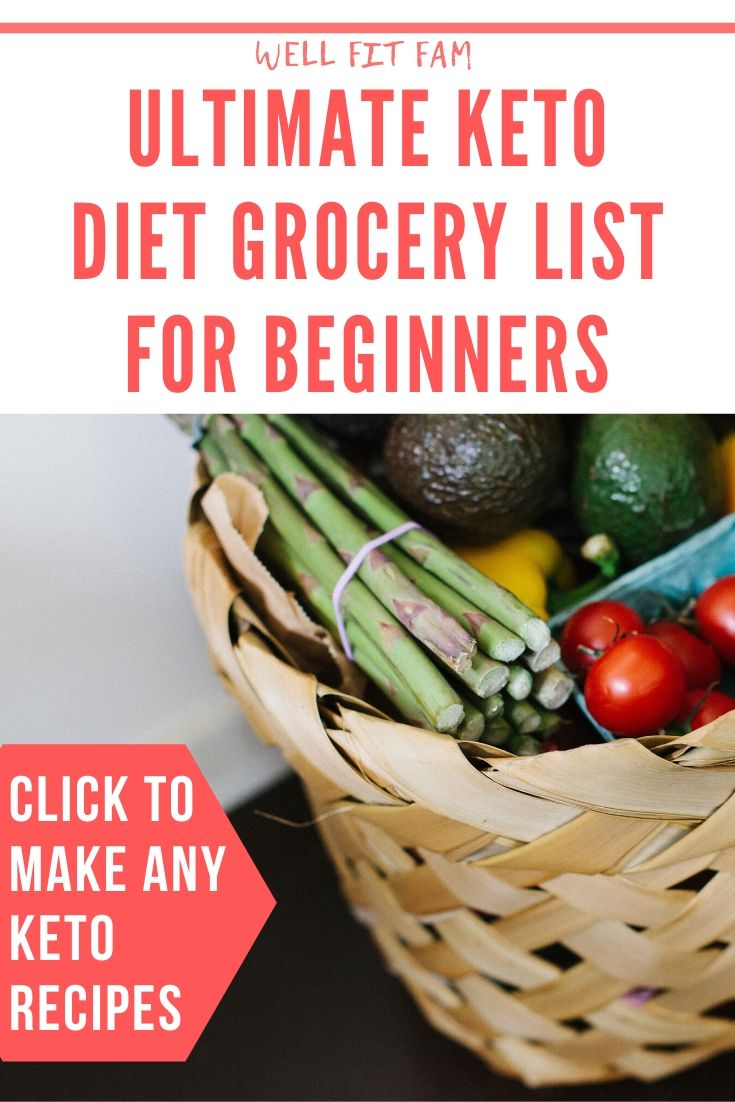 Ultimate Keto Diet Grocery List For Beginners: To Make Any Recipe