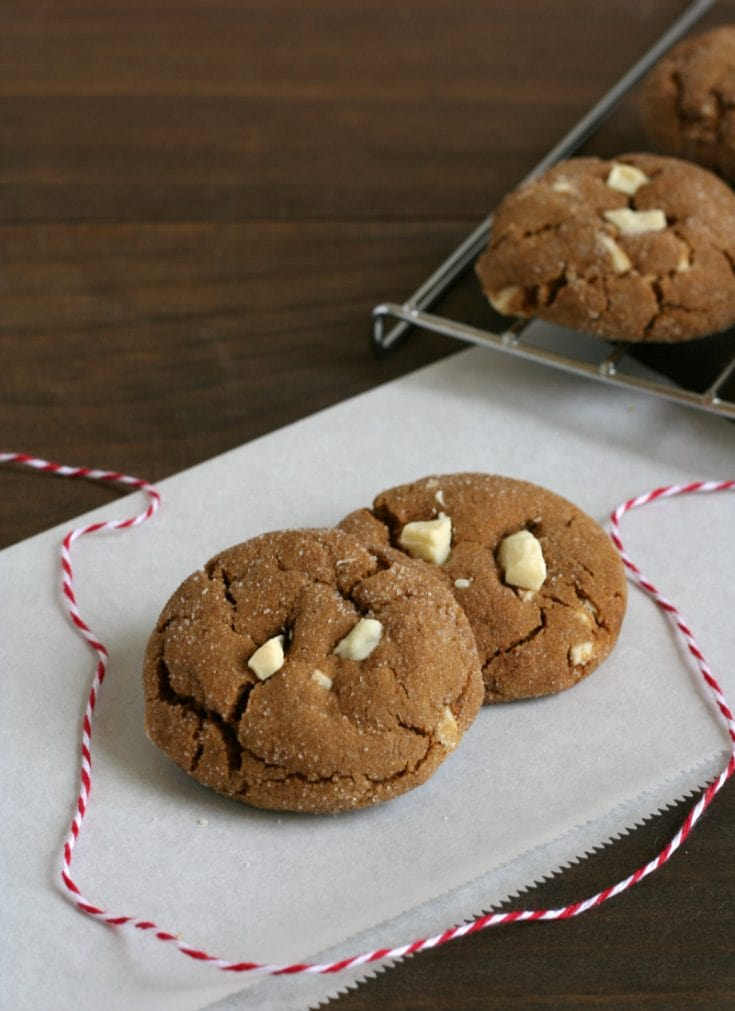 11 White Chocloate Cookies-min gluten free Christmas cookies recipe
