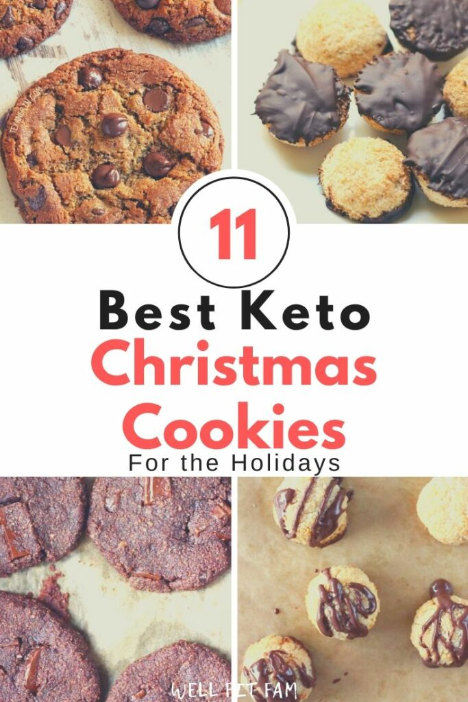 11 Best Keto Christmas Cookies Recipes For The Holidays