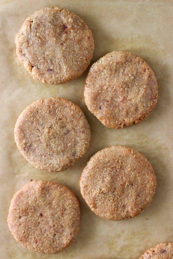 6. Almond Butter Cookies (Vegan + GF)-min