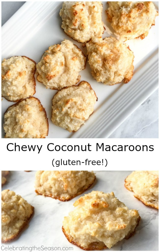 8 Chewy-Coconut-Macaroons-Recipe gluten free Christmas cookies recipe