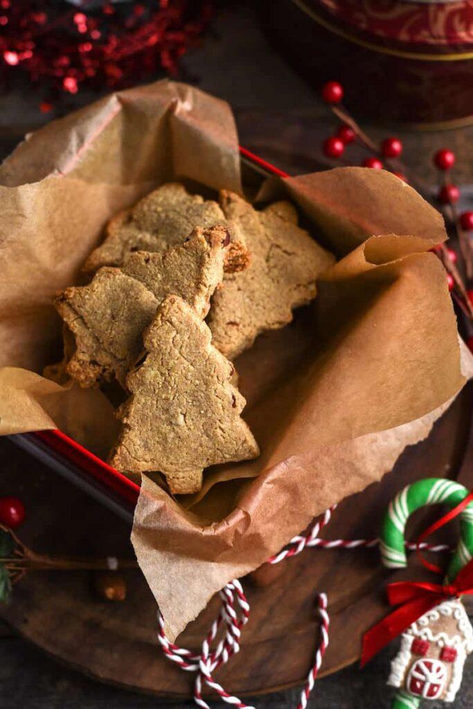 8 Cinnamon Almond Shortbreak Paleo Cookies-min
